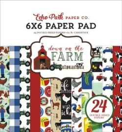 """PaperPad Echo Park - Down on the Farm 6"""""""