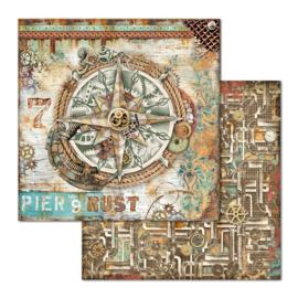 "12"" PaperPad Stamperia - Seaworld"