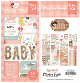 Echo Park stickers - Baby Girl sticker book
