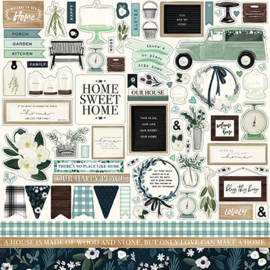 Carta Bella stickers - Home Again