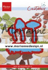 Snijmal Marianne Design - Paddenstoelen