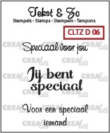 Clear Stamp - Speciaal voor jou