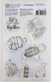 Clear Stamp CraftEmotions - Ocean 3