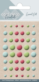 Card Deco Enamel Dots - Mix 6