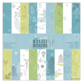 "6"" PaperPad Papermania - Winter Woodland"