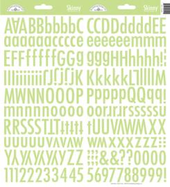 Doodlebug Skinny Stickers - Limeade groen