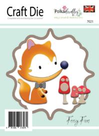 Snijmal PolkaDoodles - Foxy Fun