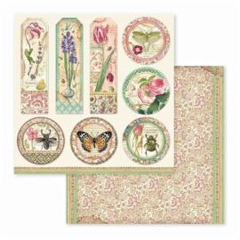 """12"""" PaperPad Stamperia - Spring Botanic"""