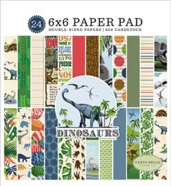"PaperPad Carta Bella - Dinosaurs 6"""