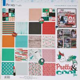 PaperPad Pronty - Pretty & Cool 12""
