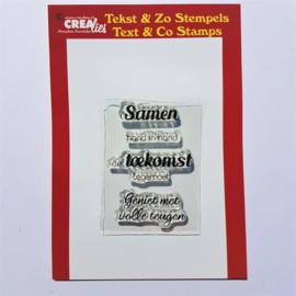 CreaLies clear stamp - Samen