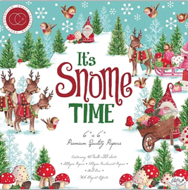 PaperPad CraftConsortium - It's Snome Time 6""