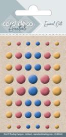 Card Deco Enamel Dots - Mix 5