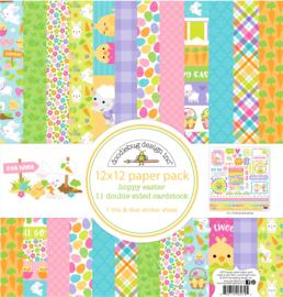 "12"" PaperPad Doodelbug - Hoppy Easter"