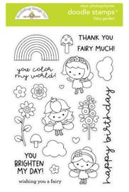 Clear Stamp DoodleBug Design - Fairy Garden