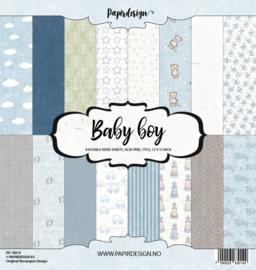 "PaperPad Papirdesign - Baby Boy 12"""