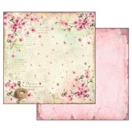 """12"""" PaperPad Stamperia - Flower Alphabet"""