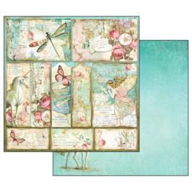 PaperPad Stamperia - Wonderland