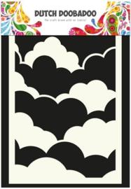 Dutch Doobadoo Mask - Wolken A6
