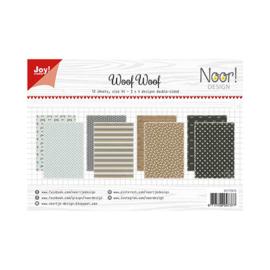 PaperPad Joy!Crafts - Woof Woof (A4-formaat)