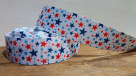 Lint - Rode & Blauwe sterren