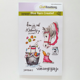 Clear Stamp CraftEmotions - Sinterklaas 2