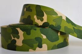 Lint - Camouflage motief 'groen'