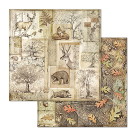 """12"""" PaperPad Stamperia - Forest"""