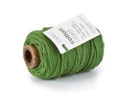 Katoen Koord 2mm - Donker Groen