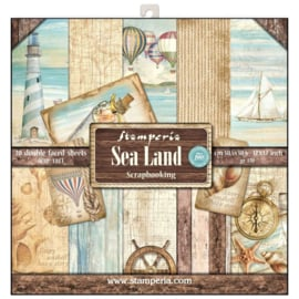 PaperPad Stamperia - Sea Land