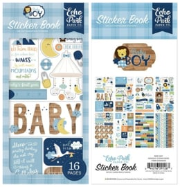 Echo Park stickers - Baby Boy sticker book
