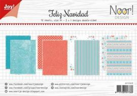 PaperPad Joy!Crafts - Feliz Navidad (A4-formaat)