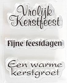 Clear Stamp - K 12 - Tekst & Zo Stempels