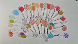 Boekenleggers - Konijnen met Ballonnen
