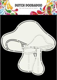 Dutch Doobadoo Stencil - Paddenstoelen (2 stuks)