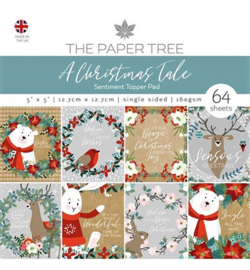 "PaperPad The Paper Boutique - A Christmas Tale (5"" x 5"")"