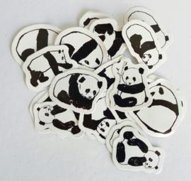 Planner Stickers - Pandaberen (set 45 stuks)