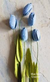 Tulp Licht Blauw - set 5 stuks
