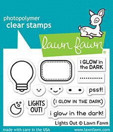 Clear Stamp Lawn Fawn - Turn Me On