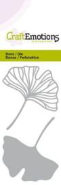 Snijmal CraftEmotions - Ginkgo bladeren
