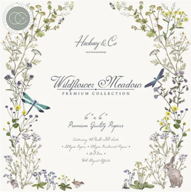 PaperPad CraftConsortium - Wildflower Meadow 6""