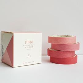 Masking Tape set - Pink