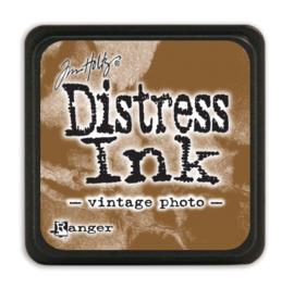 Ranger Distress Mini Ink pad - Vintage Photo