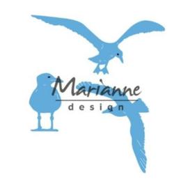 Snijmal Marianne Design - Zeemeeuwen