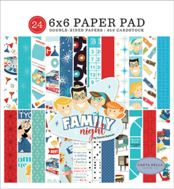 PaperPad Carta Bella - Family Night 6""