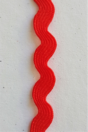 ZigZag lint 5mm - Rood