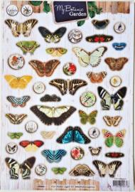 Knipvel StudioLight - Botanical vlinders