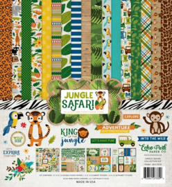 "PaperPad Echo Park - Jungle Safari (12"" Kit)"