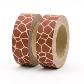 Masking Tape - Giraffe motief