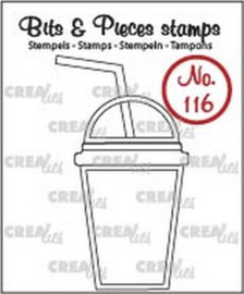 Clear Stamp CreaLies - Smoothie